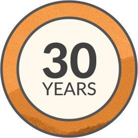 30 Years Experience Icon