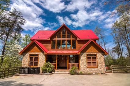 Mystic Moonlight Cabin Exterior