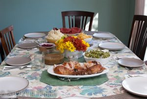 Plate of Thanksgiving food - Photo credit: Robert Rogers