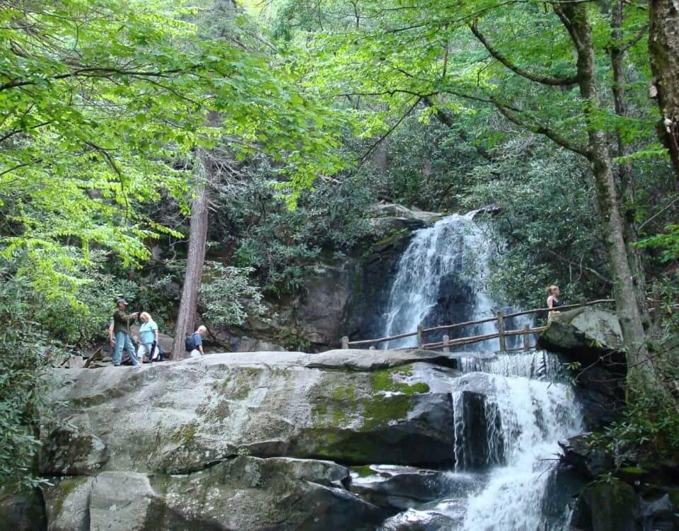 waterfall hike, Laurel Falls