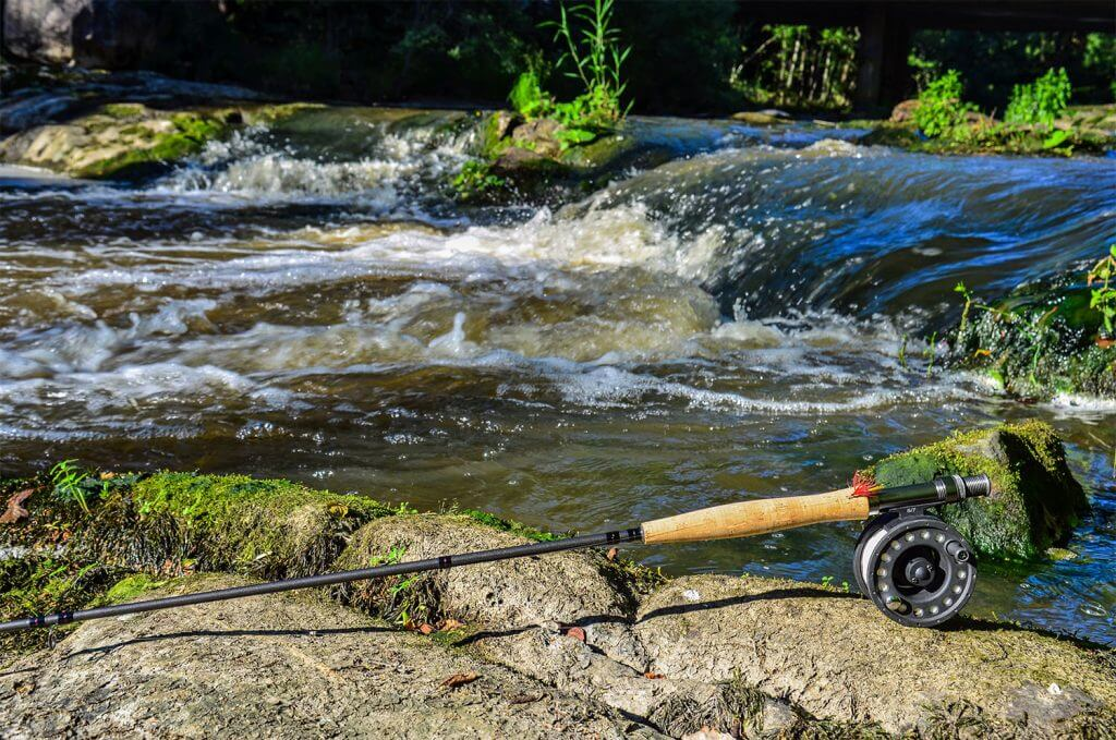 Trout fishing in the smokies bear camp cabin rentals for Gatlinburg cabins with fishing access