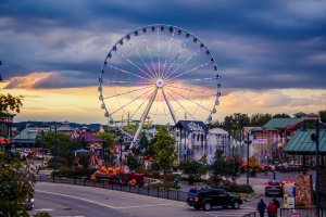 the island pigeon forge hours