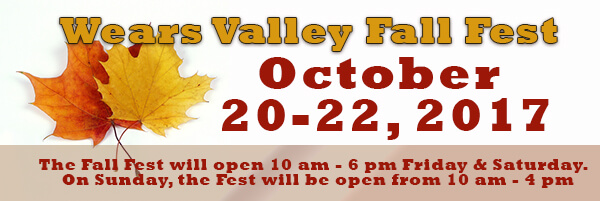 Wears Valley Fall Festival
